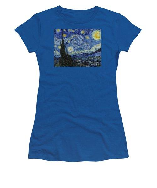 The Starry Night Women's T-Shirt