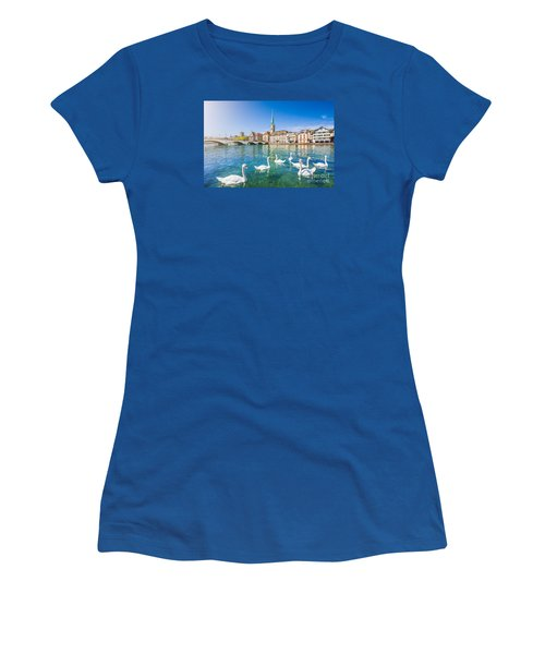 Zurich Women's T-Shirt (Athletic Fit)