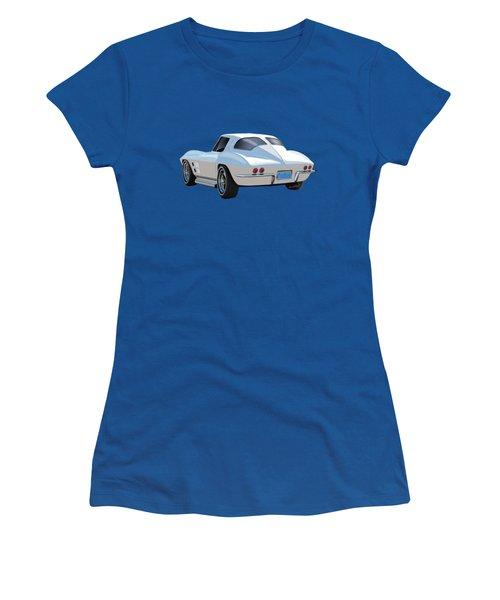 63 Vette Rear Illustration For Story Women's T-Shirt
