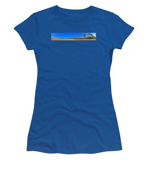 6x1 Venice Florida Beach Pier Women's T-Shirt