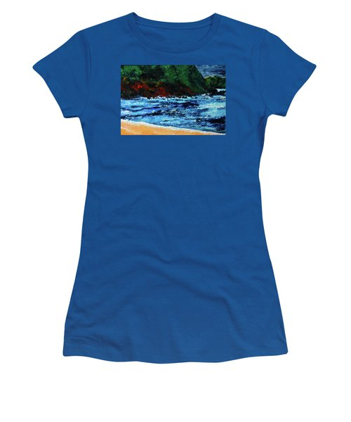 A Day At The Lake In Austin Texas Women's T-Shirt (Athletic Fit)