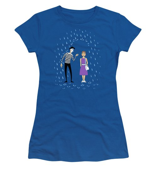 A Helping Hand Women's T-Shirt (Athletic Fit)