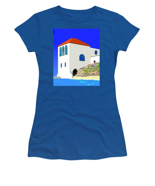 A Private Beach Women's T-Shirt (Athletic Fit)