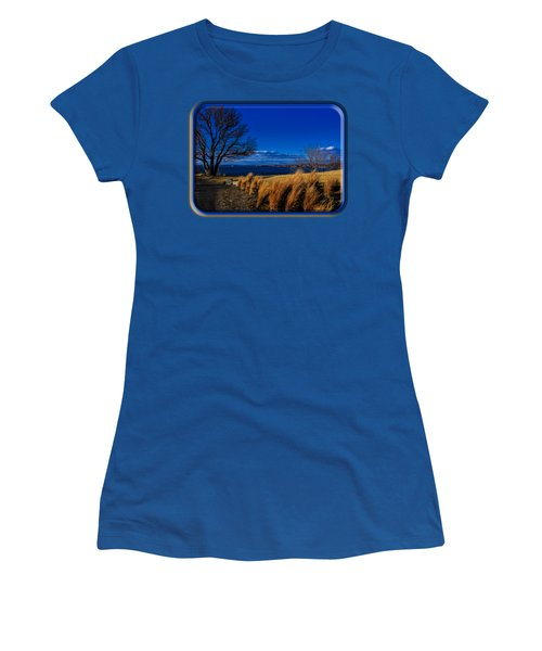 A Side Path Women's T-Shirt (Junior Cut) by Mark Myhaver