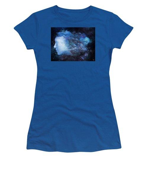 A Soul In The Sky Women's T-Shirt (Junior Cut) by Gun Legler