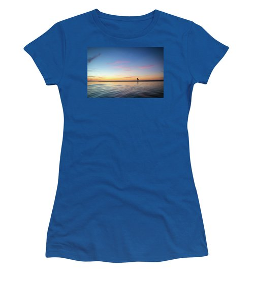 A Twilight Beach Walk Women's T-Shirt