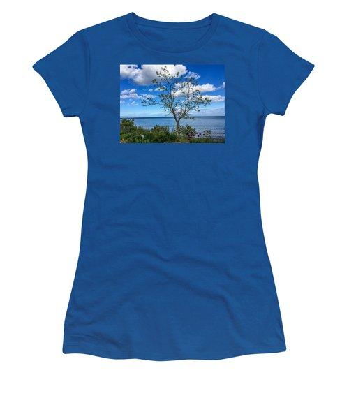 A Walk Along Lake Michigan Women's T-Shirt