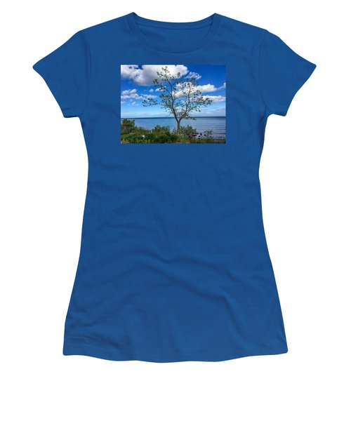 A Walk Along Lake Michigan Women's T-Shirt