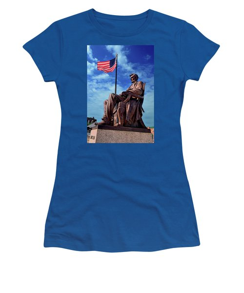 Abraham Lincoln Birthplace 002 Women's T-Shirt (Junior Cut) by George Bostian
