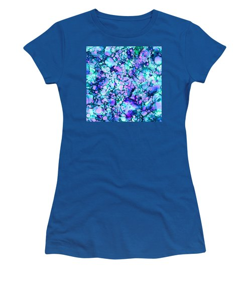 Abstract 8 Women's T-Shirt (Junior Cut) by Patricia Lintner
