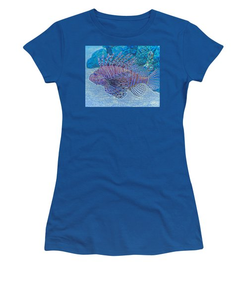 Abstract Lionfish Women's T-Shirt