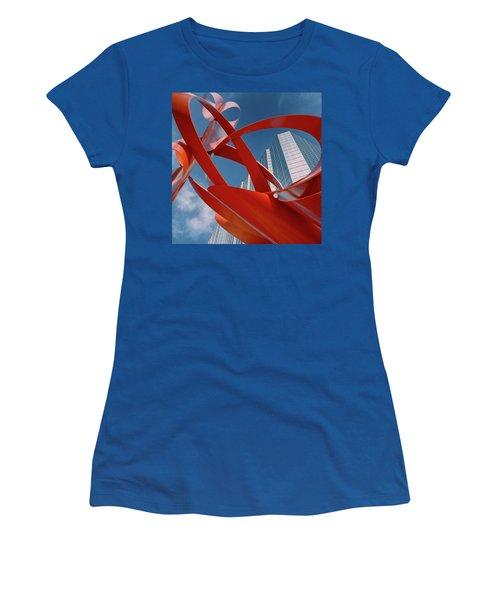 Abstract - Oklahoma City Women's T-Shirt