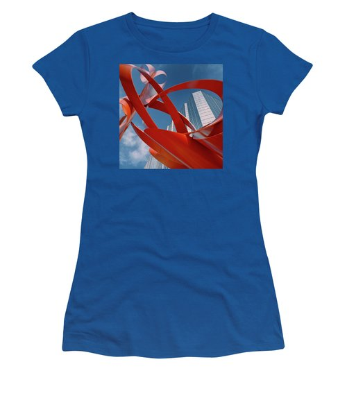 Abstract - Oklahoma City Women's T-Shirt