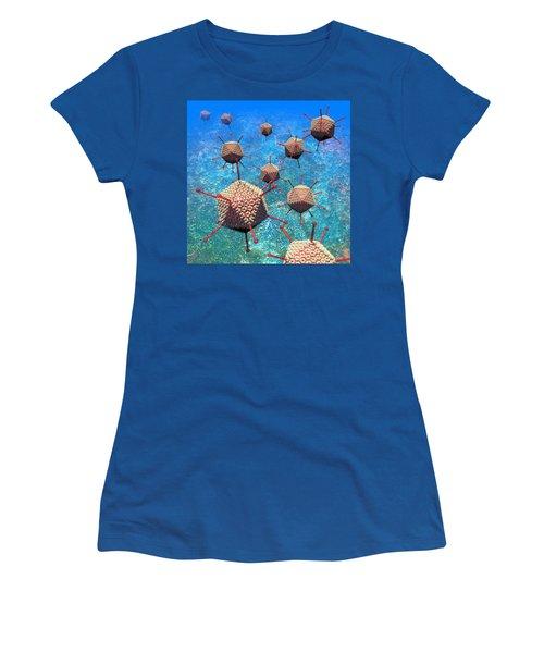 Adenovirus Particles 3 Women's T-Shirt