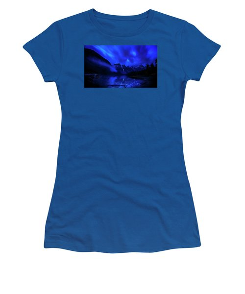 Women's T-Shirt (Junior Cut) featuring the photograph After Midnight by John Poon