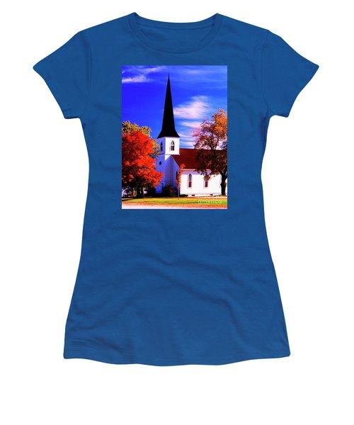Algonquin Rd Church St Johns United  Women's T-Shirt