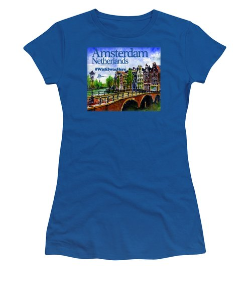 Amsterdam Netherlands Shirt Women's T-Shirt (Athletic Fit)