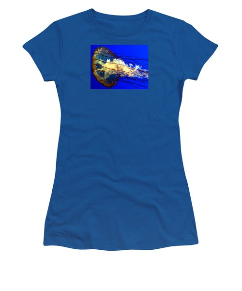 Anatomy Of Sea Nettle Women's T-Shirt (Athletic Fit)