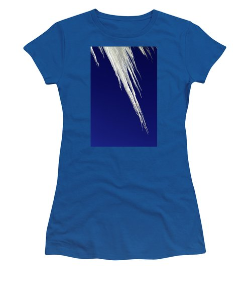 Angled Ice Women's T-Shirt (Athletic Fit)
