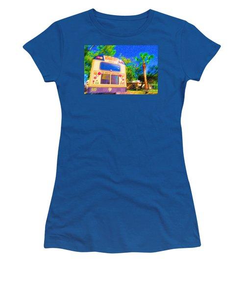 Anna Maria Elementary School Bus C131270 Women's T-Shirt