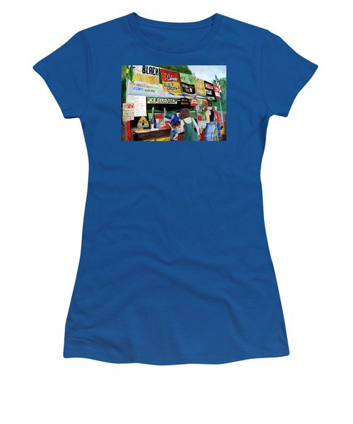 Appalachian Picnic Women's T-Shirt (Junior Cut) by Sandy McIntire
