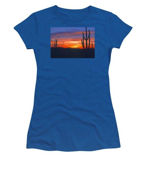 Arizona Desert Sunset Women's T-Shirt