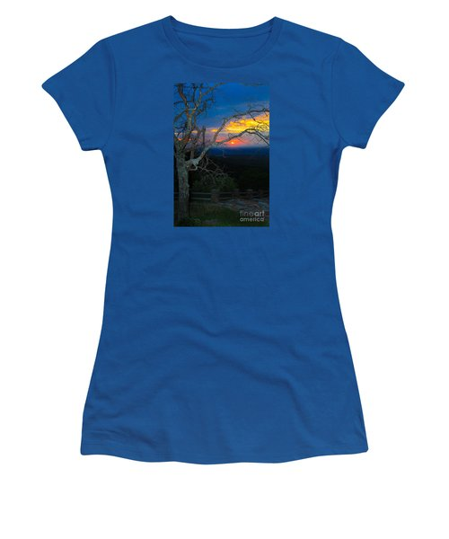 Arkansas Sunset II Women's T-Shirt (Athletic Fit)