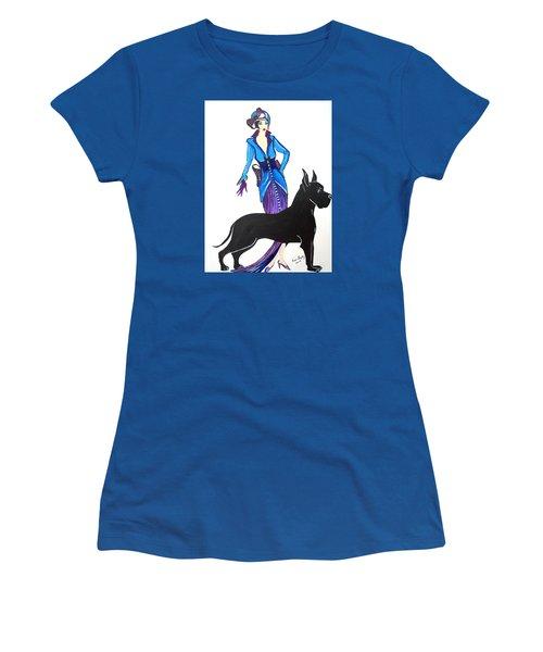 Art Deco 1920's Myra Women's T-Shirt (Athletic Fit)