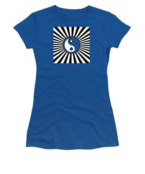 Yinyang Gone Wild Women's T-Shirt (Junior Cut) by Methune Hively