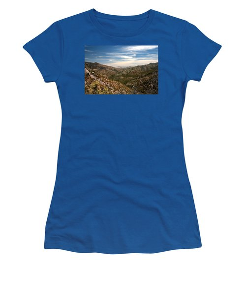 Women's T-Shirt (Junior Cut) featuring the photograph As Far As The Eye Can See by Joe Kozlowski