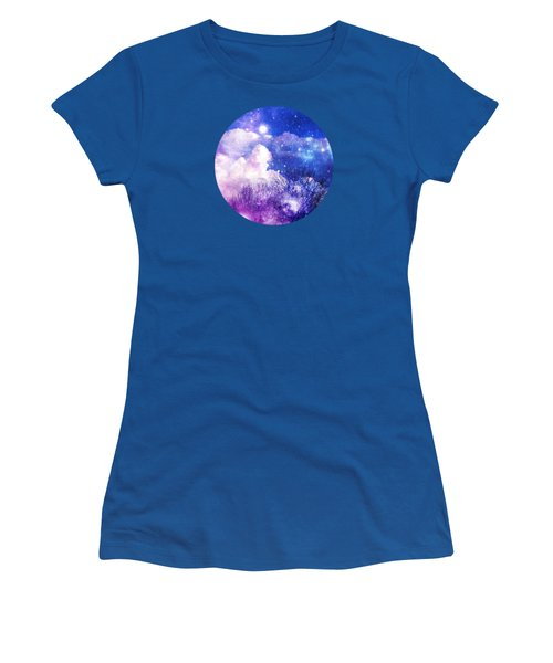 As It Is In Heaven Mandala Women's T-Shirt (Junior Cut) by Leanne Seymour