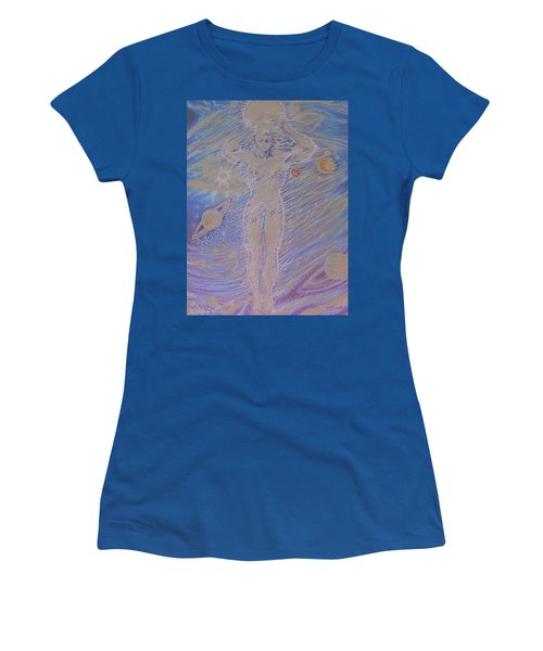 Atlas' Sister Women's T-Shirt (Athletic Fit)