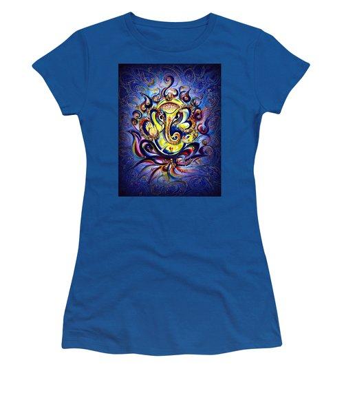 Aum Ganesha - Bliss Women's T-Shirt (Athletic Fit)