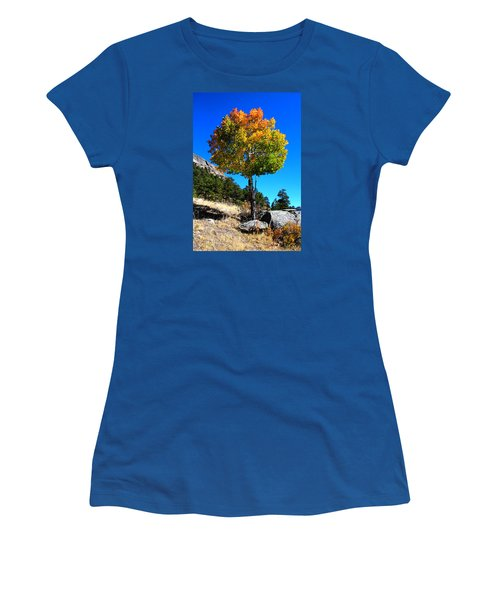 Autumn Aspen Women's T-Shirt (Athletic Fit)