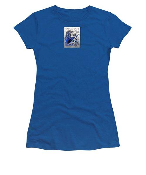 Azul Diablo Women's T-Shirt (Athletic Fit)