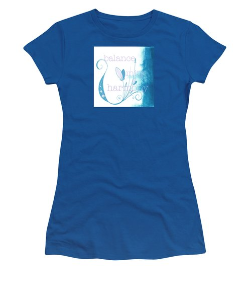 Balance Women's T-Shirt (Athletic Fit)