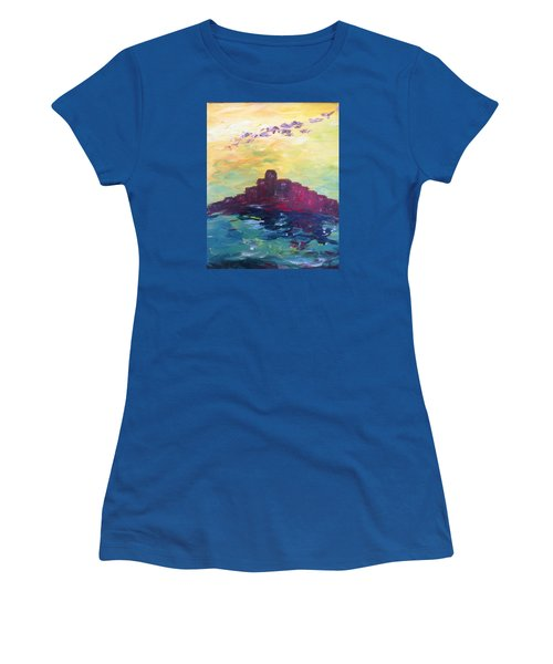 Bay City Skyscape Women's T-Shirt (Junior Cut) by Roxy Rich