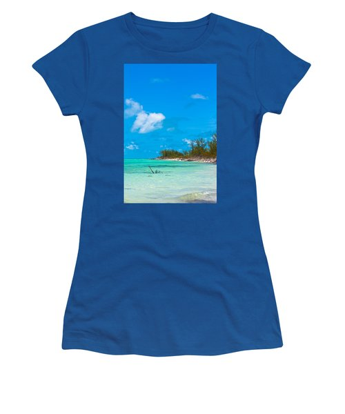 Beach At North Bimini Women's T-Shirt