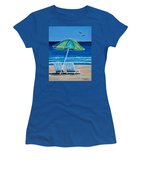 Beach Chair Bliss Women's T-Shirt