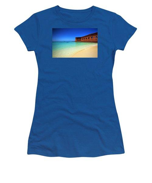 Beach Fort. Women's T-Shirt
