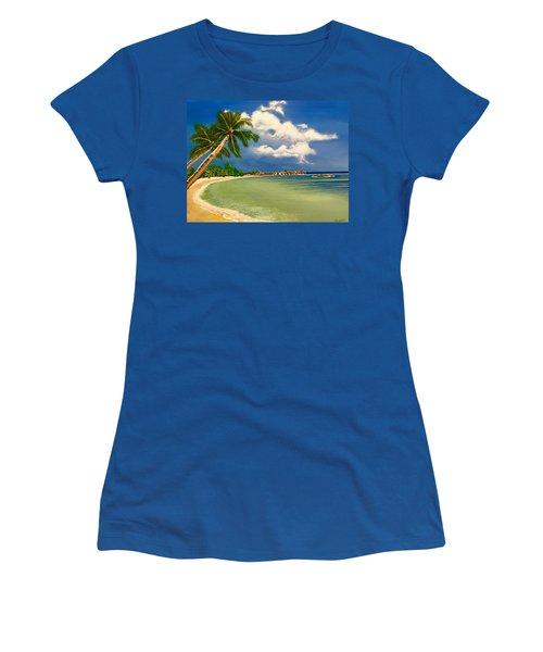 Beach Getaway Women's T-Shirt (Athletic Fit)
