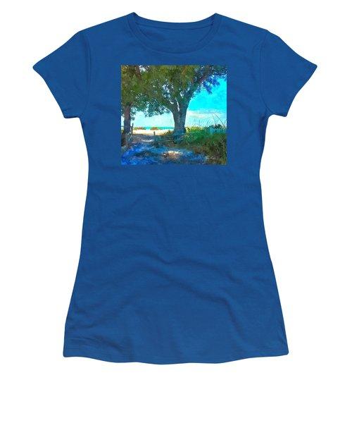 Bike To The Beach Women's T-Shirt