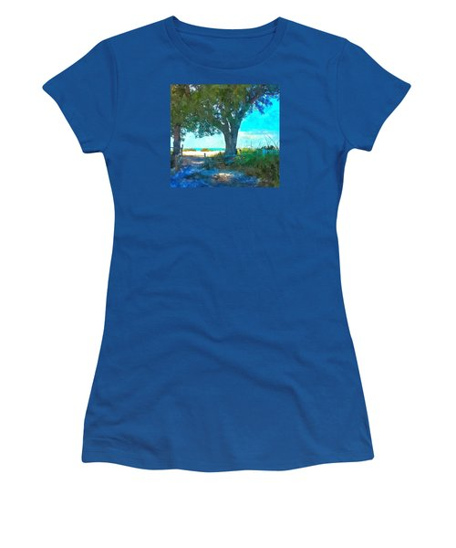 Bike To The Beach Women's T-Shirt