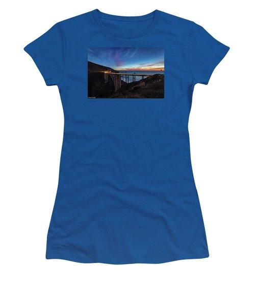Bixby Bridge Sunset Women's T-Shirt