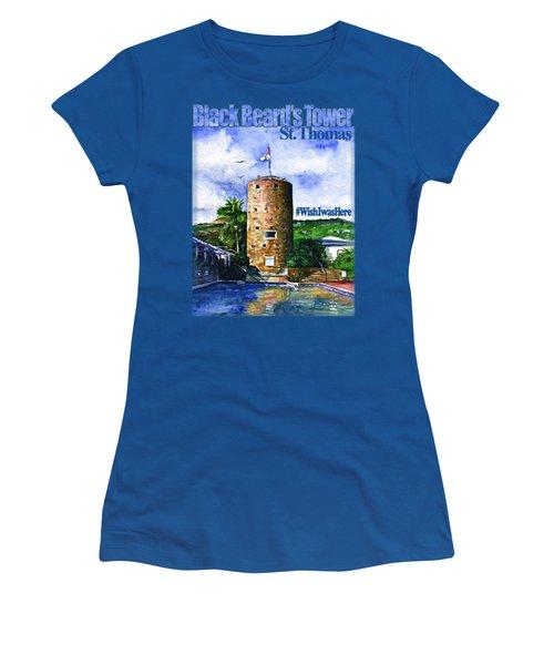 Black Beard's Tower Shirt Women's T-Shirt