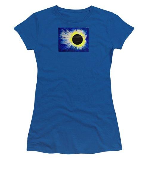 Black Hole Blues Women's T-Shirt (Athletic Fit)