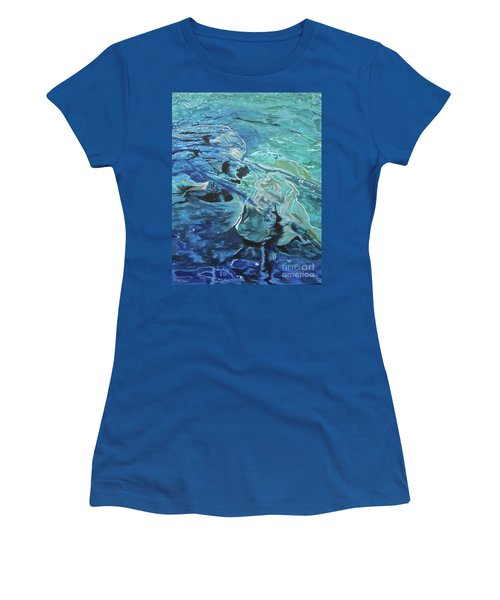 Bliss Women's T-Shirt (Junior Cut) by Stuart Engel