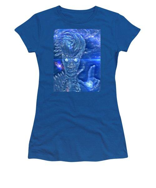 Blue Avian Women's T-Shirt (Athletic Fit)