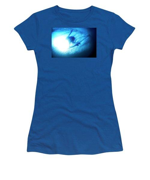 Blue Barrel Women's T-Shirt (Athletic Fit)