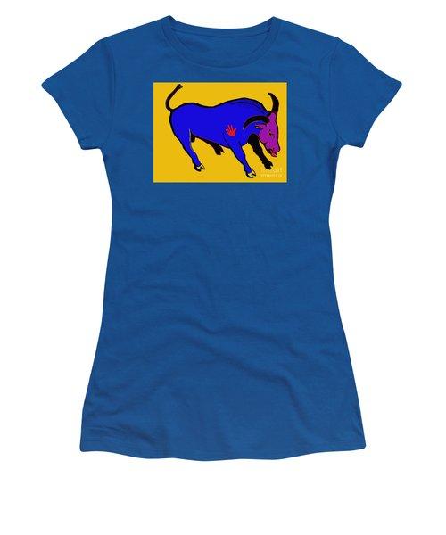 Blue Bull Women's T-Shirt (Athletic Fit)
